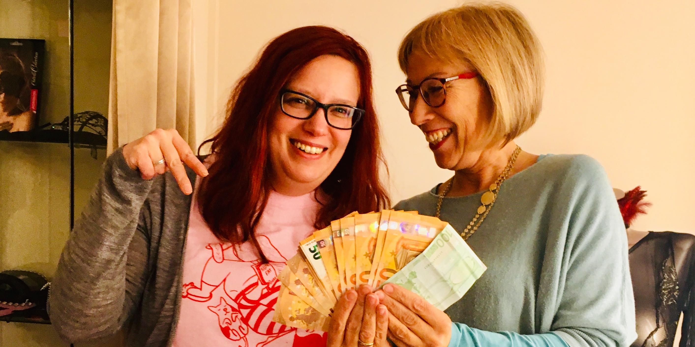 BH Lounge und Liebhabereien, Episode Wirtschaft, spielen mit Geld